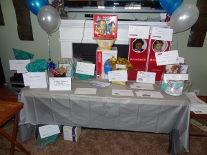 Product and services from many generous donors